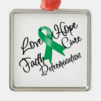 Liver Cancer Love Hope Determination Ornaments