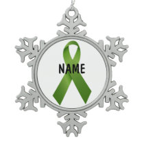 Liver Cancer Memorial Ornament