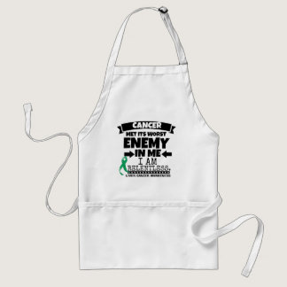 Liver Cancer Met Its Worst Enemy in Me Adult Apron