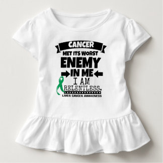 Liver Cancer Met Its Worst Enemy in Me Toddler T-shirt