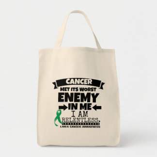 Liver Cancer Met Its Worst Enemy in Me Tote Bag