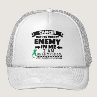 Liver Cancer Met Its Worst Enemy in Me Trucker Hat