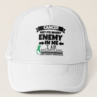 Liver Cancer Met Its Worst Enemy in Me Trucker Hat