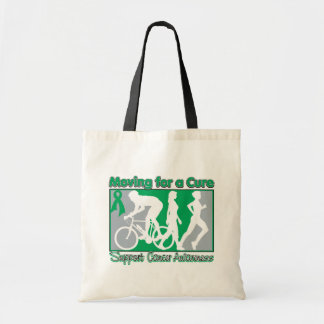 Liver Cancer Moving For A Cure Tote Bag