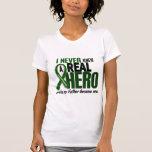 Liver Cancer NEVER KNEW A HERO 2 Father T Shirt