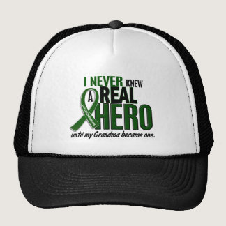 Liver Cancer NEVER KNEW A HERO 2 Grandma Trucker Hat