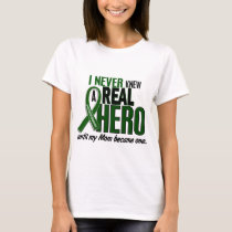 Liver Cancer NEVER KNEW A HERO 2 Mom T-Shirt