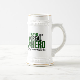 Liver Cancer NEVER KNEW A HERO 2 Mother Beer Stein