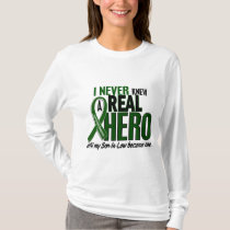 Liver Cancer NEVER KNEW A HERO 2 Son-In-Law T-Shirt