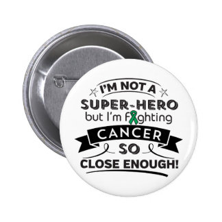 Liver Cancer Not a Super-Hero 2 Inch Round Button