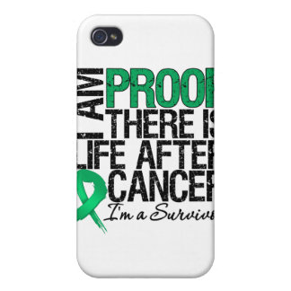 Liver Cancer Proof There is Life After Cancer iPhone 4 Covers