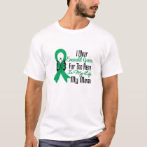 Liver Cancer Ribbon Hero My Mom T-Shirt