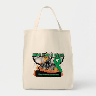 Liver Cancer Ride For a Cure Tote Bag