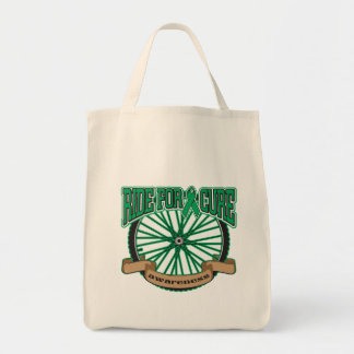 Liver Cancer Ride For Cure Tote Bags
