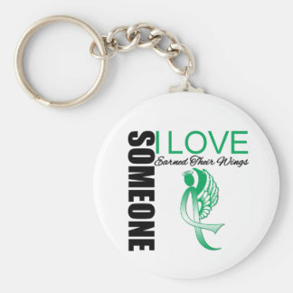 Liver Cancer Someone I Love Earned Their Wings Key Chain