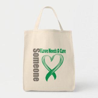 Liver Cancer Someone I Love Needs A Cure Canvas Bag
