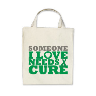 Liver Cancer Someone I Love Needs A Cure Tote Bags