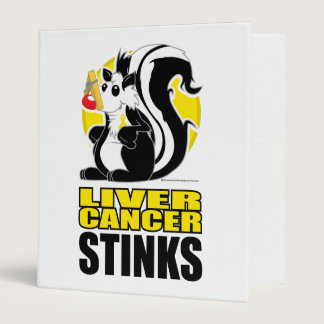 Liver Cancer Stinks 3 Ring Binder