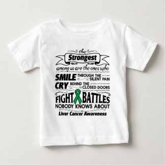 Liver Cancer Strongest Among Us Baby T-Shirt