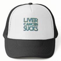 Liver cancer sucks trucker hat