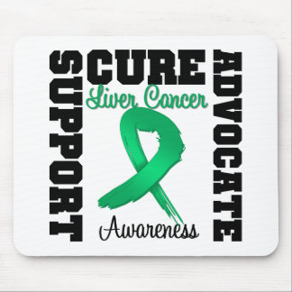 Liver Cancer Support Advocate Cure Mouse Pads
