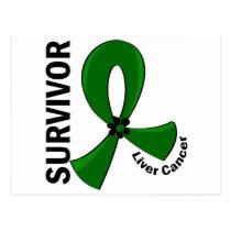Liver Cancer Survivor 12 Postcard