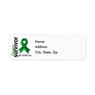 Liver Cancer Survivor 19 Label