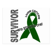 LIVER CANCER Survivor 1 Postcard