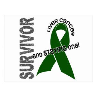 LIVER CANCER Survivor 1 Postcard