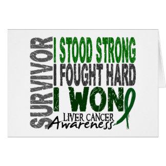 Liver Cancer Survivor 4 Card
