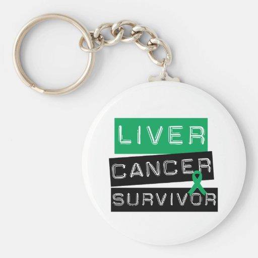 Liver Cancer Survivor Keychain