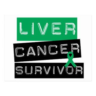 Liver Cancer Survivor Postcard