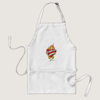 Liver Cancer Tattoo Heart Adult Apron