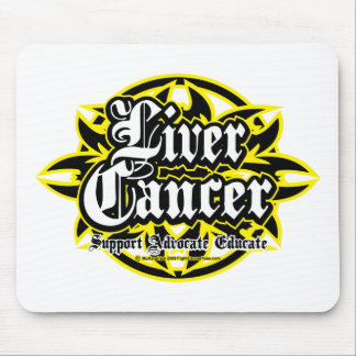Liver Cancer Tribal Mouse Pad