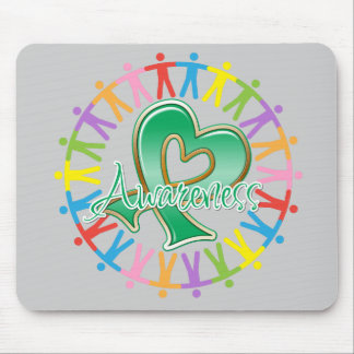 Liver Cancer Unite in Awareness Mousepads