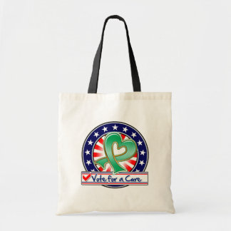 Liver Cancer Vote For a Cure Tote Bags
