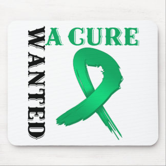 Liver Cancer WANTED A CURE Mouse Pads