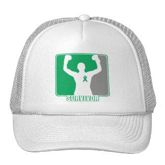 Liver Cancer Winning Survivor Mesh Hats