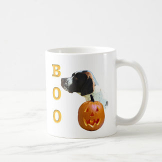 Liver Coated Pointer Boo Mugs