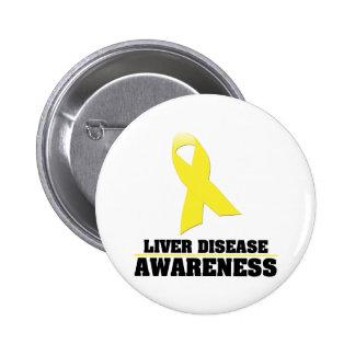 Liver Disease Awareness Button