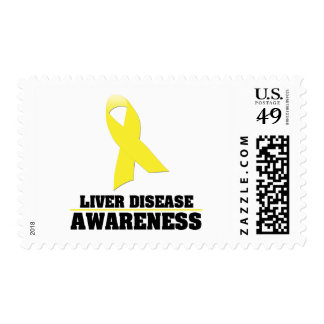 Liver Disease Awareness Postage Stamps