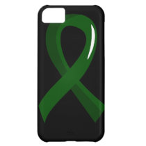 Liver Disease Emerald Green Ribbon 3 Case For iPhone 5C