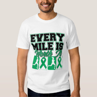 Liver Disease Every Mile is Worth It T Shirts
