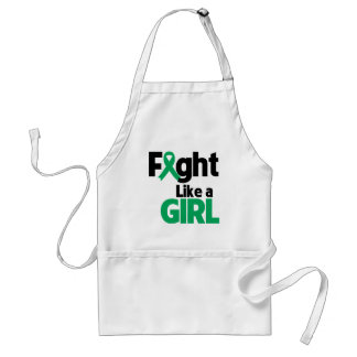 Liver Disease Fight Like a Girl Adult Apron