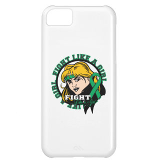Liver Disease Fight Like A Girl Attitude iPhone 5C Cases