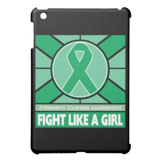 Liver Disease Fight Like A Girl Flag iPad Mini Cover