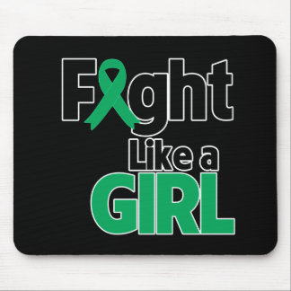 Liver Disease Fight Like a Girl Mouse Pad