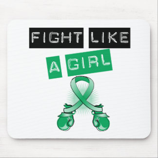 Liver Disease Fight Like A Girl Mousepads