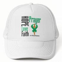 Liver Disease Hope Love Faith Prayer Trucker Hat