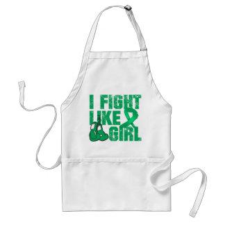 Liver Disease I Fight Like A Girl (Grunge) Apron